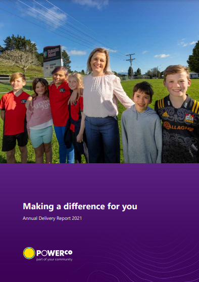 2021 Annual delivery report